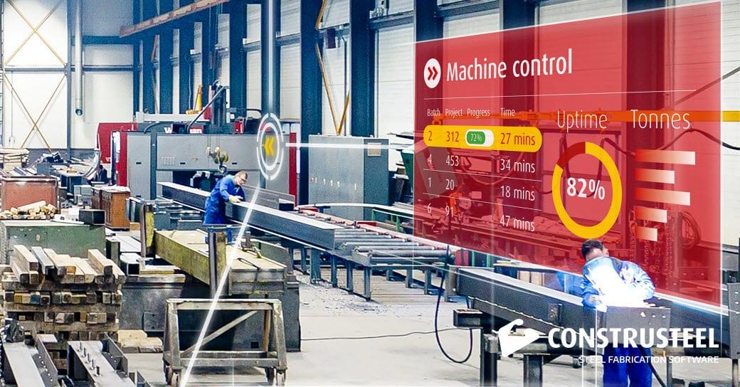 Machine control - ConstruSteel