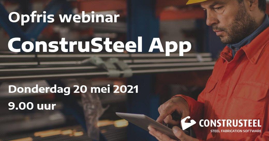 Webinar ConstruSteel App