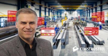 Staablouw column André Romijn - ConstruSteel